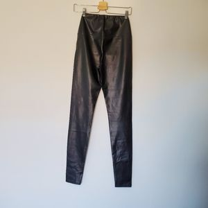 Wilfred Daria M leather leggings